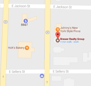Brewer Realty Group Map